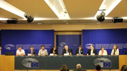 La roda de premsa es va celebrar ahir a la tarda a l'eurocambra