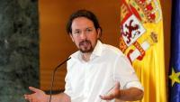 Iglesias va traslladar dilluns a Sánchez que insisteix a ser un ministre seu en un govern de coalició