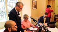 Paco Boya jura, ahir al matí, el càrrec de síndic de l'Aran, aconseguit amb majoria absoluta