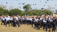 Acte de cloenda i lliurament de diplomes als nous mossos a Mollet del Vallès