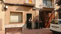 La comitiva judicial continua amb les diligències d'aixecament del cadàver de Mònica Borràs