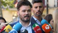 """Rufián diu que ERC """"no serà responsable d'unes segones eleccions generals"""""""