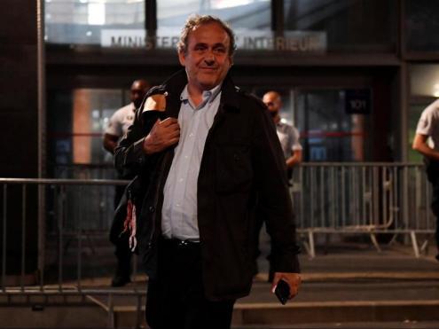 Platini, després de l'interrogatori