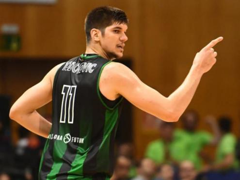 Todorovic en un partit d'aquesta temporada a la lliga ACB