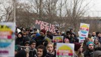 Manifestació a Alemanya contra l'ascens del partit d'ultradreta AfD