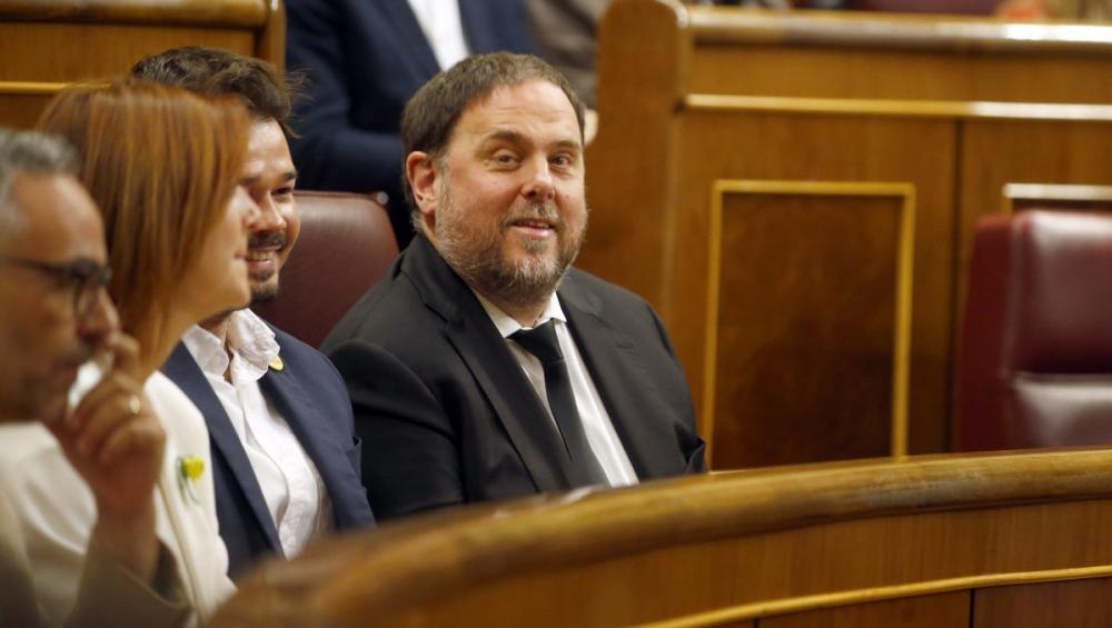 """Junqueras acusa l'Estat de """"piròman"""""""