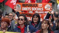 """La Intersindical-CSC critica el """"projecte de llei Aragonès"""" i reclama """"revertir les externalitzacions"""""""