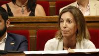 La consellera d'Empresa, Àngels Chacón, aquest dimecres al Parlament