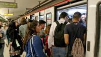 Usuaris del metro de Barcelona