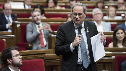 Torra defensa votar 'no' a Sánchez si no accepta un diàleg que inclogui l'autodeterminació