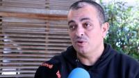 El portaveu d'Élite Taxi, Alberto 'Tito' Álvarez