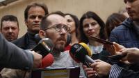 El secretari d'Acció de Govern de Podem, Pablo Echenique