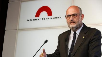 Els portaveus d'ERC i JxCat , Marta Vilalta i Eduard Pujol