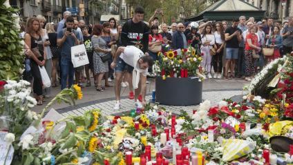 El 17 d'agost de l'any passat, en record de les víctimes