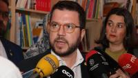 """Aragonès diu que la carta de Torra a Sánchez respon als """"debats interns"""" de JxCat"""