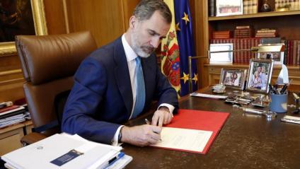 El TC anul·la la reprovació del Parlament a Felip VI i la seva petició d'abolició de la monarquia