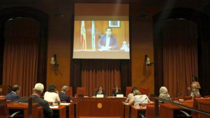 L'exsecretari d'estat de Seguretat, José Antonio Nieto, en la comissió dels atemptats del 17-A