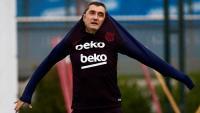 Valverde en l'entrenament