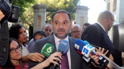 El ministre de Foment en funcions i secretari d'Organització del PSOE, Jose Luis Ábalos, en una imatge de fa uns dies