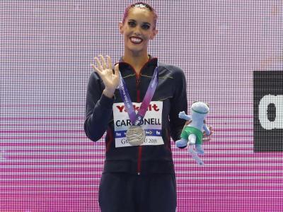 Ona Carbonell, amb la plata del solo tècnic
