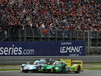 El Ligier número 34 de Dani Clos, en plena lluita en la cursa anterior, a Monza