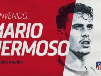 Mario Hermoso ja és jugador de l'Atlético i ha estat presentat aquest migdia.