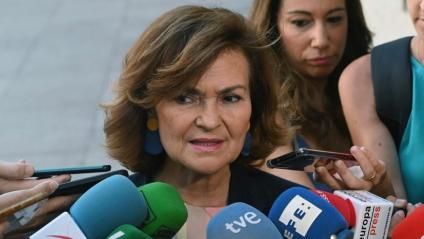 Calvo , en declaracions als mitjans aquest dimecres