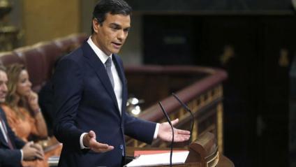 """Discurs de Sánchez """"progressista i d'esquerres"""" centrat en l'economia i la justícia social"""