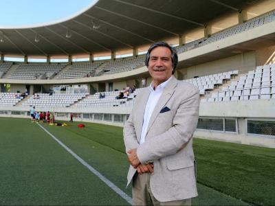 Santi Ballesté, president de l'Hospitalet, espera que la RFEF no posi un preu desorbitat a la vacant del Reus