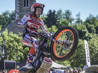 Toni Bou, en el Gran Premi de Bèlgica