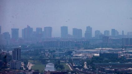 Barcelona cada cop es veu més amb aquest tel de contaminació que amb el cel blau