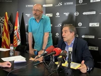 La junta de l'Hospitalet va fer públic el seu malestar pel procés establert per obtenir una plaça per a la segona divisió B