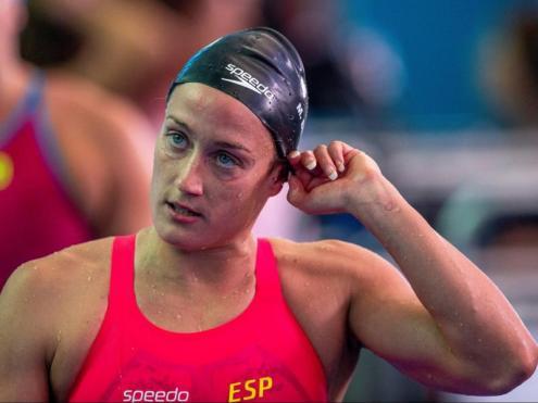 Mireia Belmonte , primera finalista catalana en el mundial de Gwangju