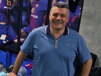 Xavi Pascual, l'entrenador del Barça d'handbol