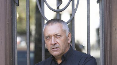 <b>Robert Manrique, </b>fotografiat a Barcelona, a la seu de la Uavat.