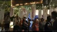 Imatge extreta d'un vídeo que recull el moment de la destrossa