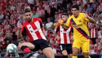 Luis Suárez ha acabat lesionat el primer partit de lliga
