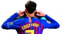 Coutinho, el dia que va marcar contra el Manchester United i va desafiar el públic del Camp Nou que el va xiular