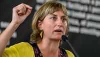 La consellera de Salut Alba Vergés compareix al Parlament