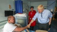 El primer ministre, Boris Johnson, va presentar ahir un nou programa de vacunació