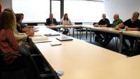 La reunió de mediació entre el personal de terra i Iberia