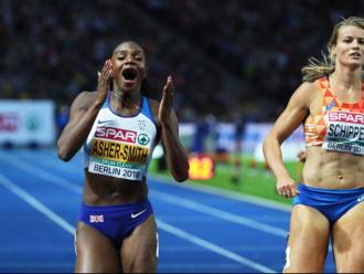 Asher-Smith i Schippers correran els 200 m