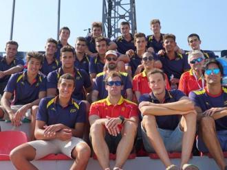 La selecció espanyola juvenil a Tbilisi