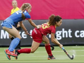 Gigi Oliva va fer un pas endavant en la segona part per desencallar el partit contra Rússia