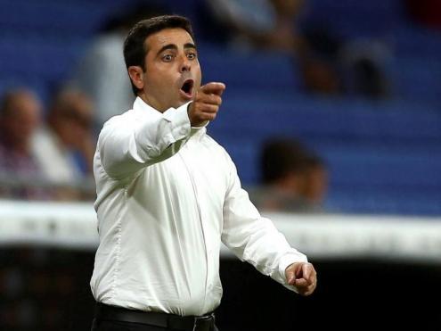 David Gallego va encaixar la seva primera derrota amb l'Espanyol contra el Sevilla