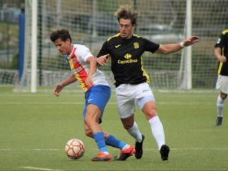 Raíllo, autor de la diana contra l'Andorra
