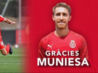 Marc Muniesa ja és història passada pel Girona