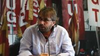 Camil Ros, secretari general d'UGT de Catalunya