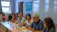 Representants sobiranistes dels Països Catalans, ahir