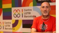 Rodríguez, a la nova seu del centre LGTBI, situada al carrer Borrell de Barcelona